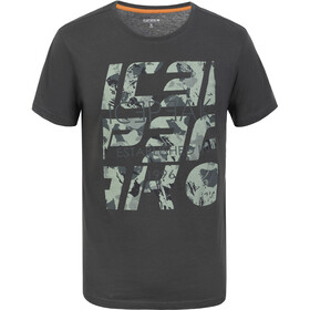 Icepeak Creston T-Shirts Men, dark green